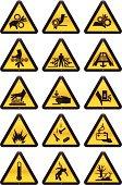 Work Hazard Signs