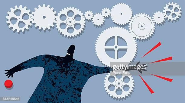 work injury - broken arm stock illustrations, clip art, cartoons, & icons