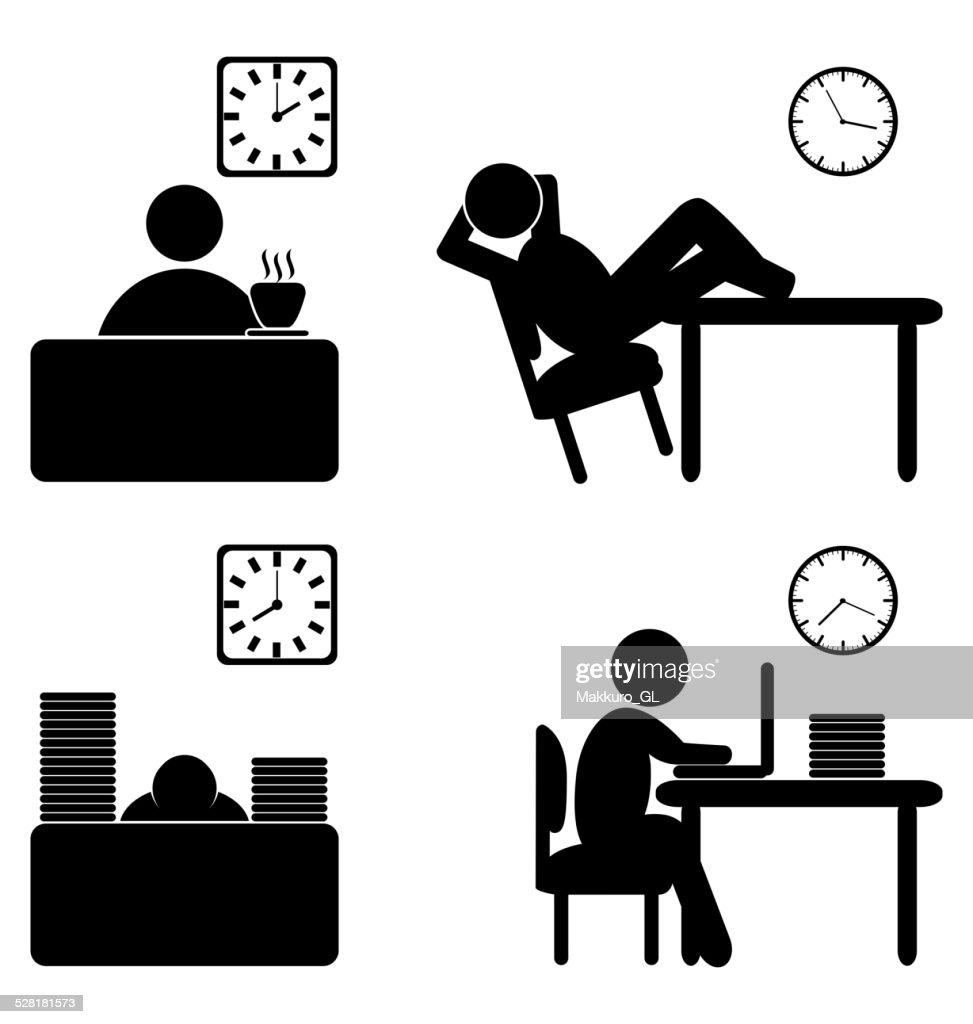 work process icons