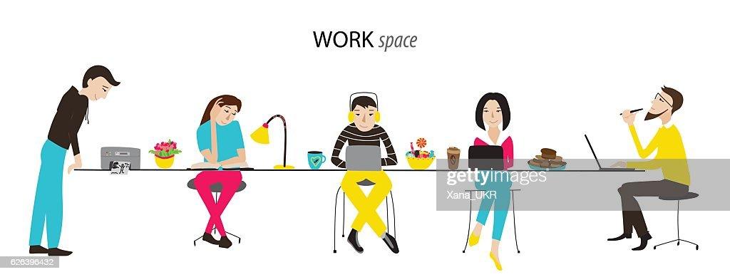 Work space vector concept