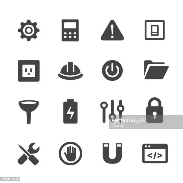 Work Tool Icons Set - Acme Series