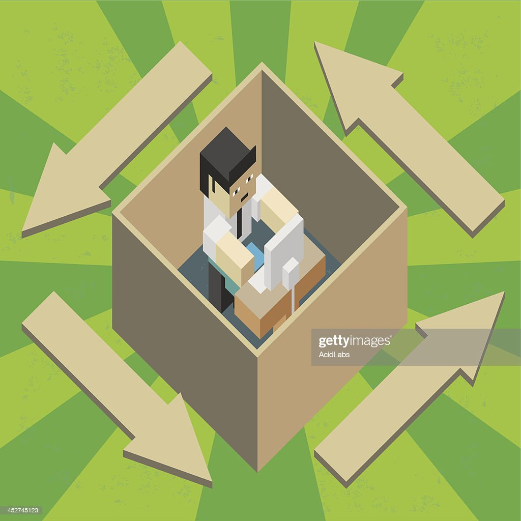 Worker in a box