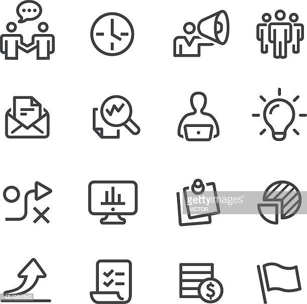 Workflow Icons - Line Series