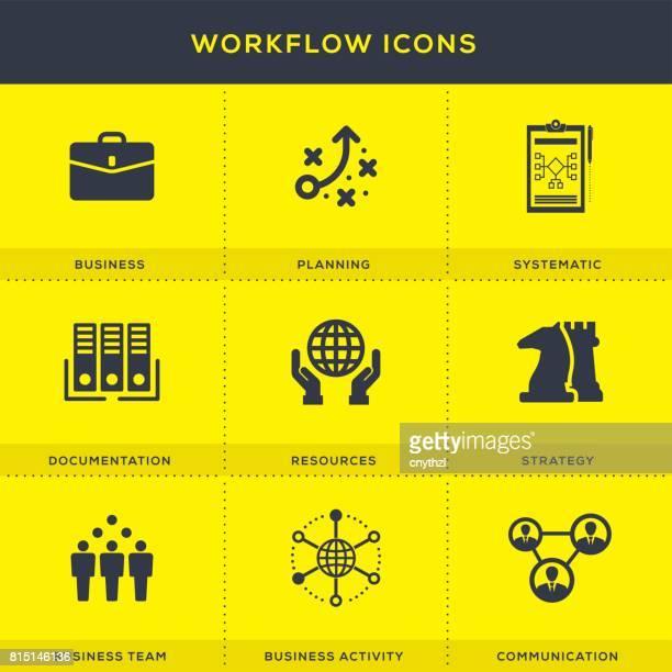 Workflow-Icons Set