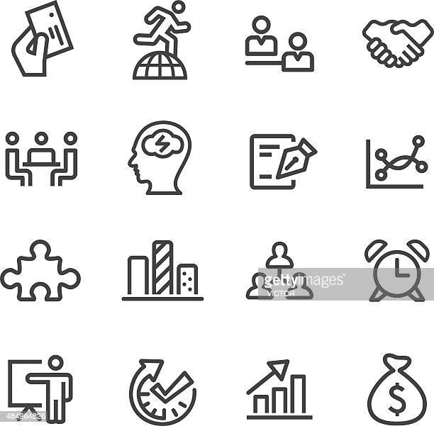 Workflow-Management-Icons-Line Serie