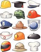 Working Hats Set