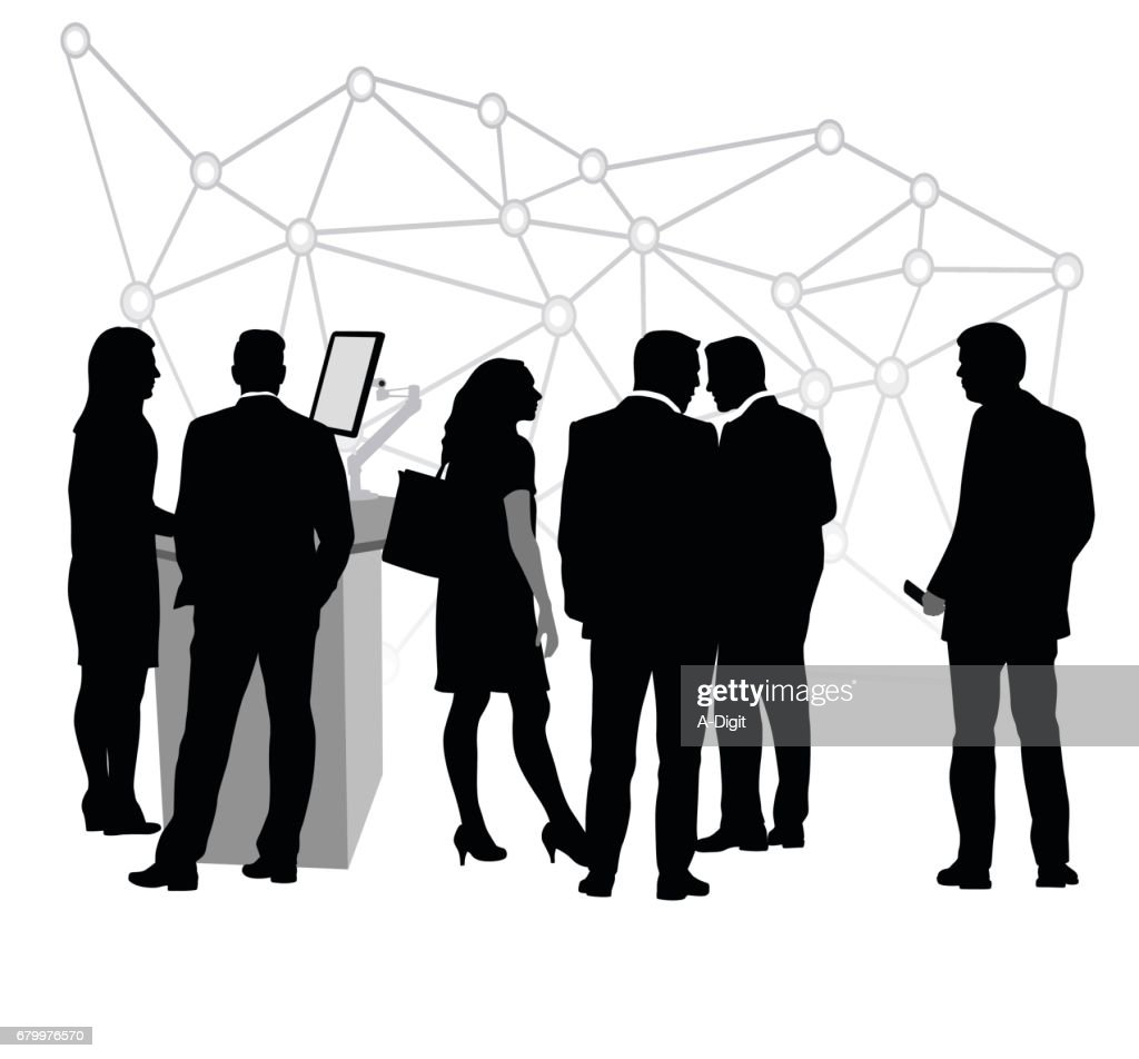 Working Internet Connections : stock illustration