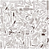 working tools - doodles collection