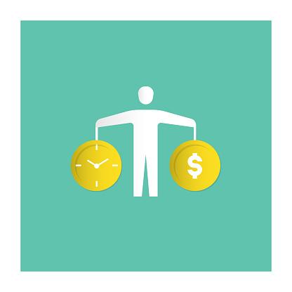 Work-Life Balance Icon - gettyimageskorea