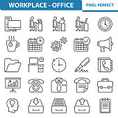 Workplace - Office Icons