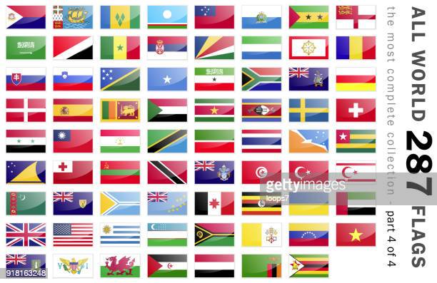 World 287 Flags - part 4 of 4