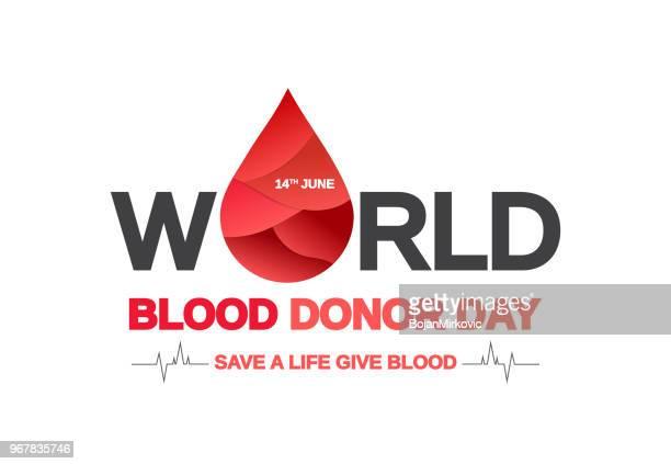世界献血者デーの背景概念。ベクトルの図。 - 献血点のイラスト素材/クリップアート素材/マンガ素材/アイコン素材