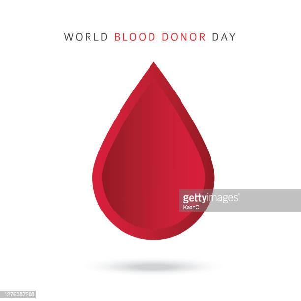 world blood donor day - blood drop stock illustration - blood clot stock illustrations