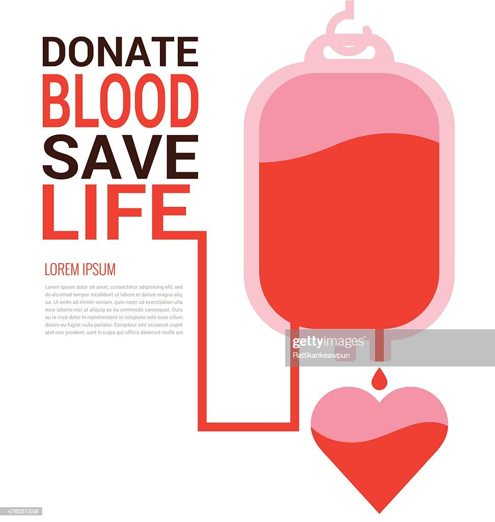 World Blood Donor Day concept