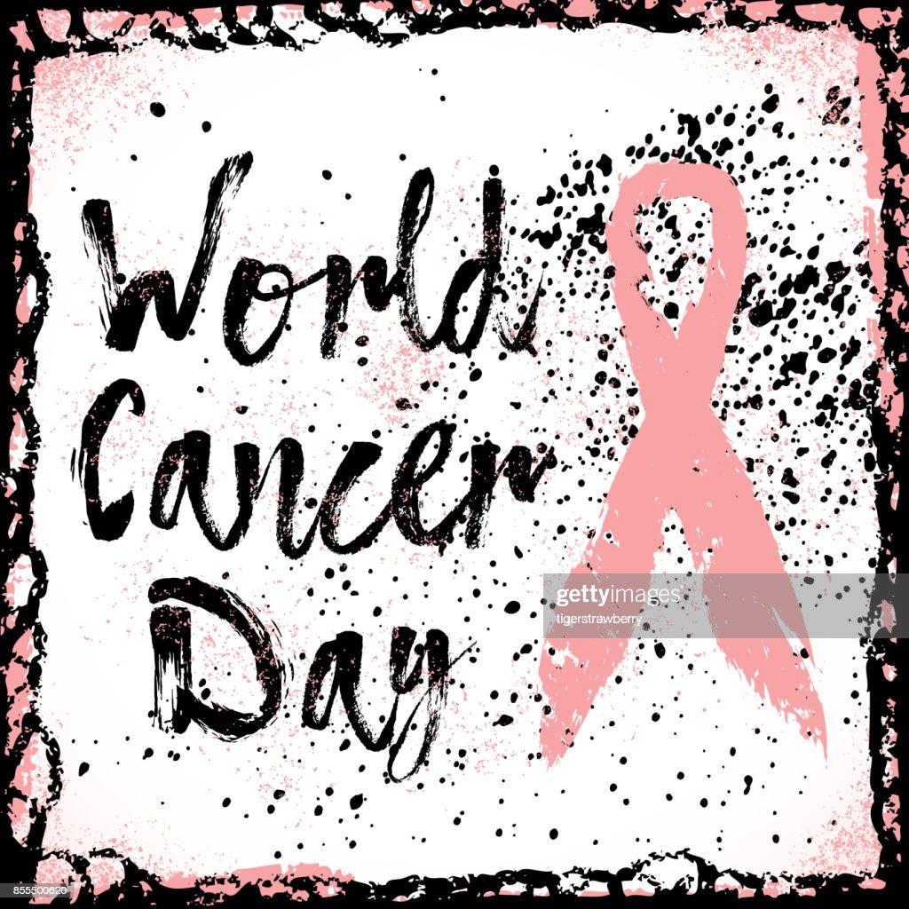 Weltkrebstag Zitat über Breast Cancer Awareness Zu Unterzeichnen ...