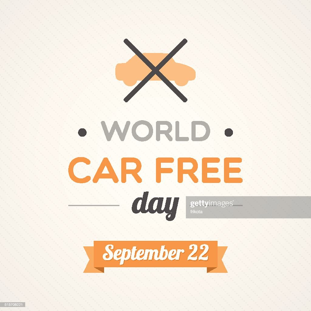World Car Free Day