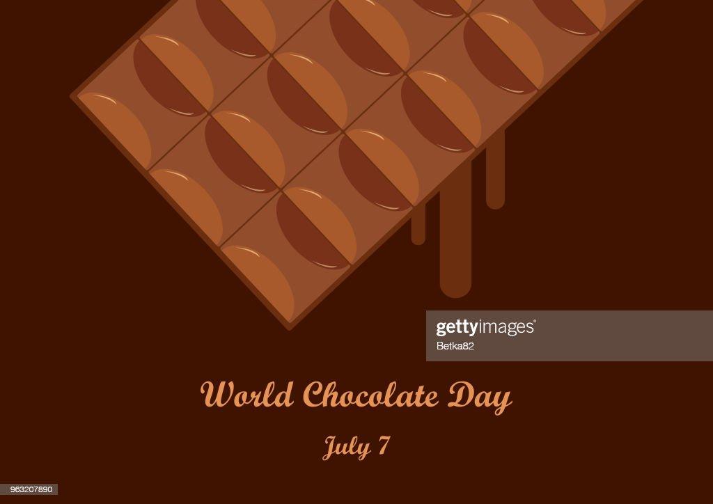 World Chocolate Day vector