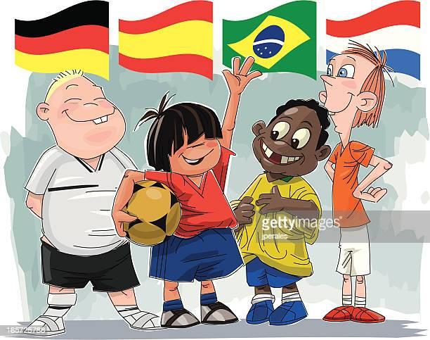 world cup children