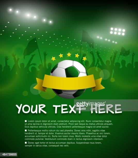 ilustrações, clipart, desenhos animados e ícones de copa do mundo de convite - football