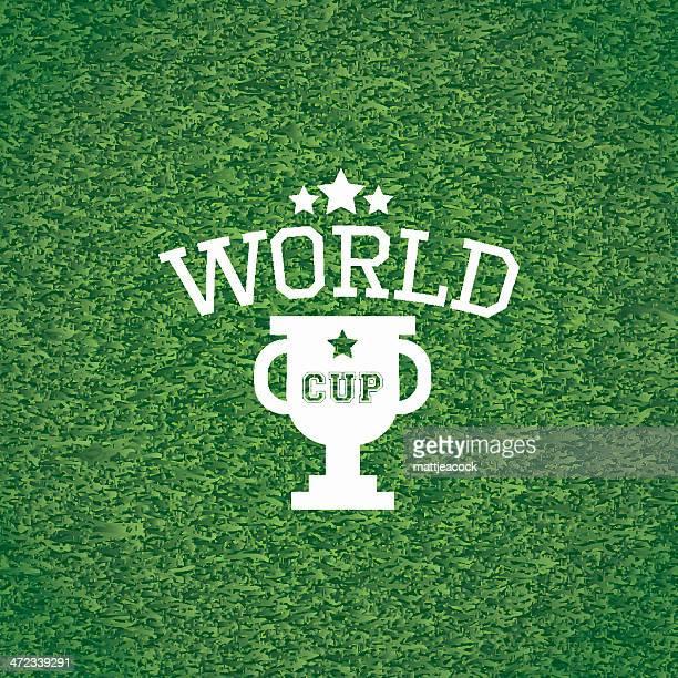ilustraciones, imágenes clip art, dibujos animados e iconos de stock de mundial cup - cancha futbol