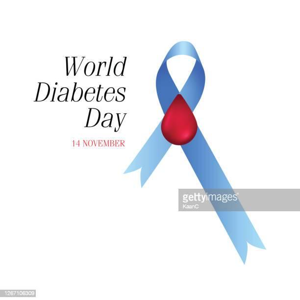 world diabetes day vector image design illustration stock illustration - diabetes stock illustrations