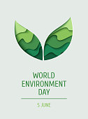 World Environment day concept background