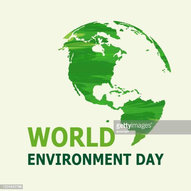 世界環境デー - 環境問題点のイラスト素材/クリップアート素材/マンガ素材/アイコン素材