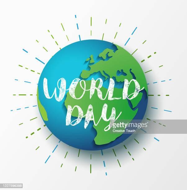 世界環境の日 - 水の無駄遣い点のイラスト素材/クリップアート素材/マンガ素材/アイコン素材