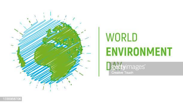 世界環境デー - 水の無駄遣い点のイラスト素材/クリップアート素材/マンガ素材/アイコン素材