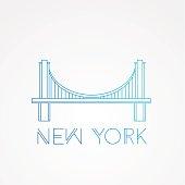 World famous Brooklyn Bridge