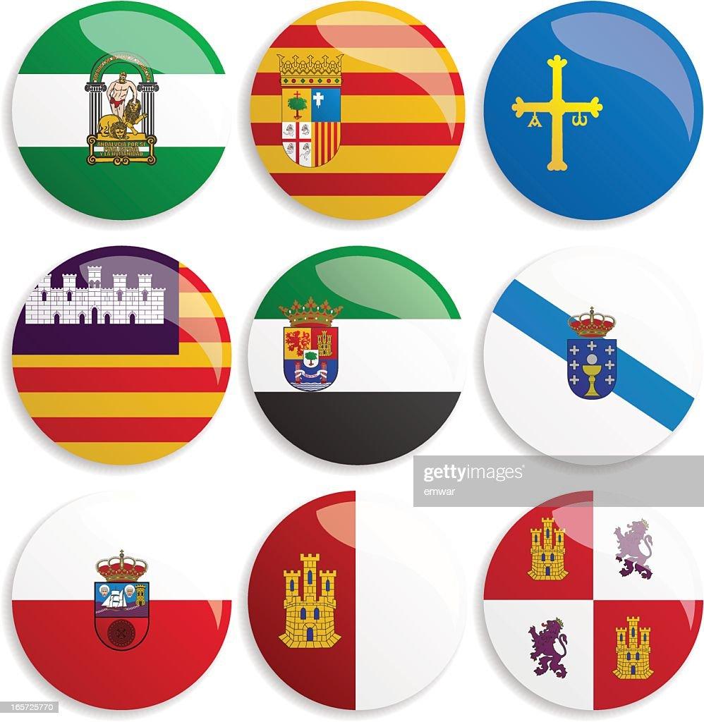 World Flag Buttons