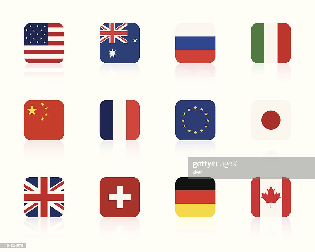 world flags 1 | square