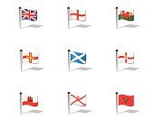 World Flags: British Territories in Europe
