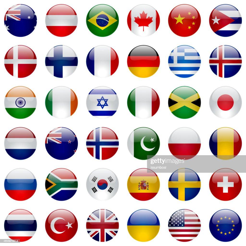 World Flags Icon Set