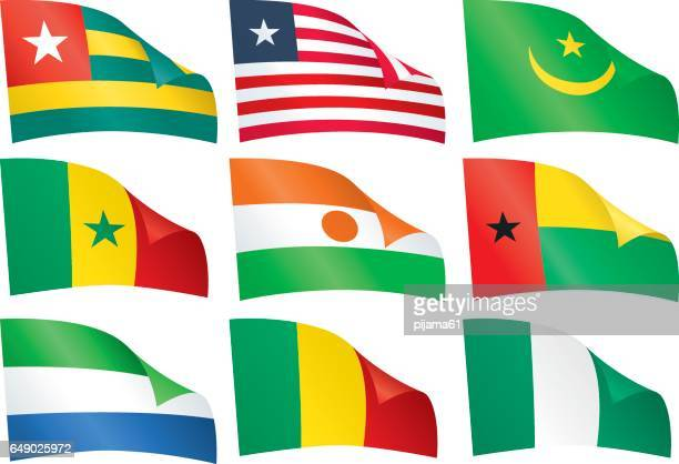 World flags.