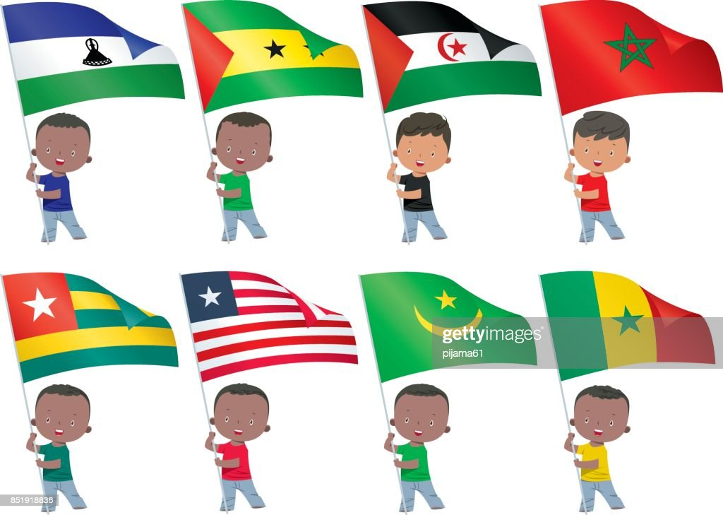 world flags : stock illustration