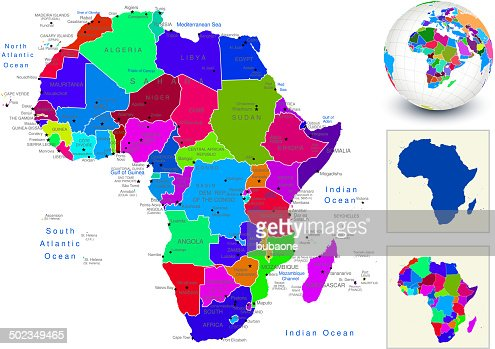 World geography africa vector art getty images gumiabroncs Choice Image