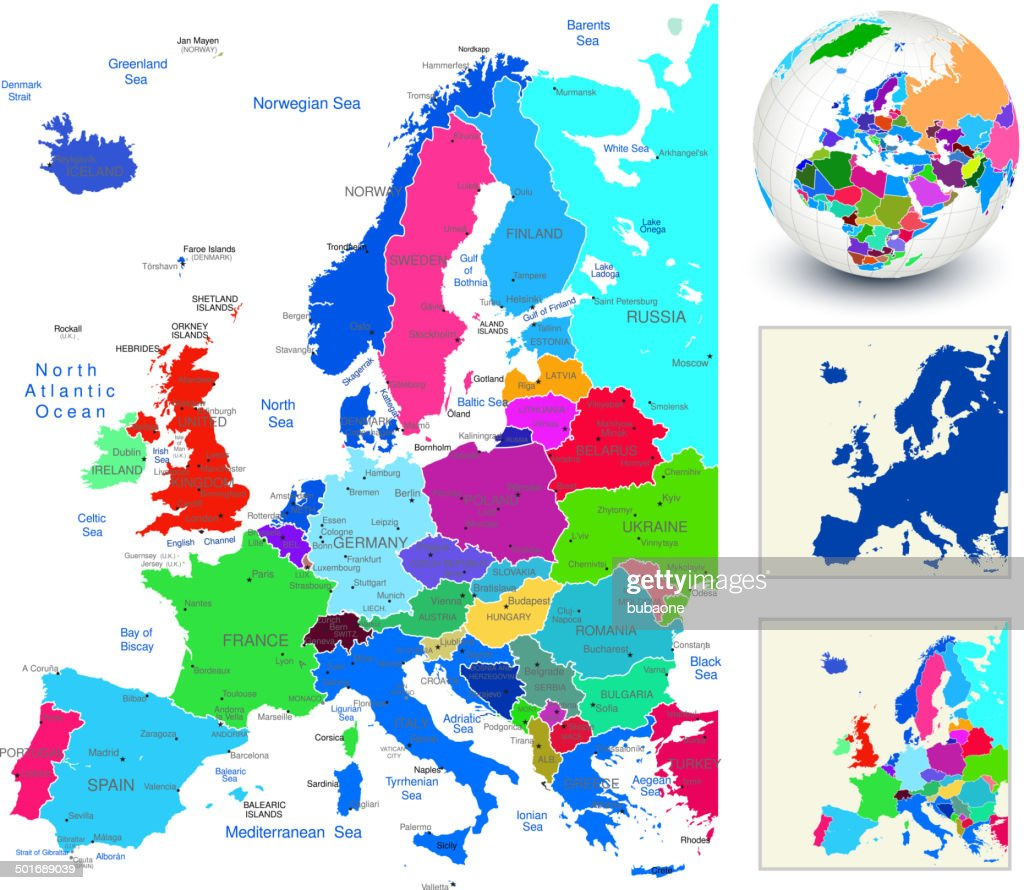 World geography europe vector art getty images world geography europe vector art gumiabroncs Gallery