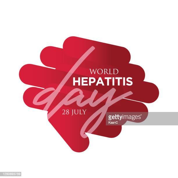 world hepatitis day stock illustration - hepatitis stock illustrations