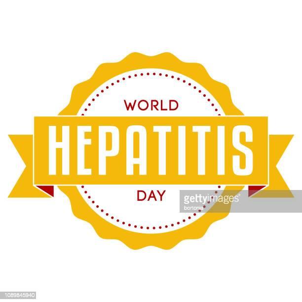 world hepatitis day - hepatitis stock illustrations