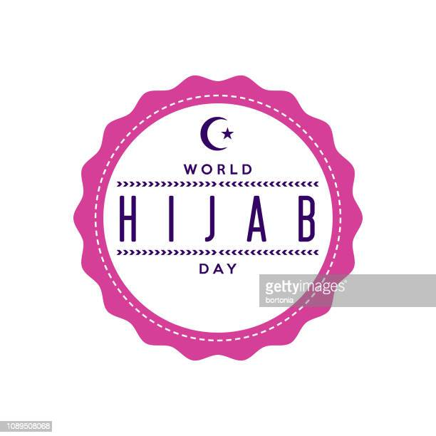 World Hijab Day Label
