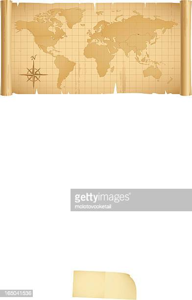 Monde dans une bannière