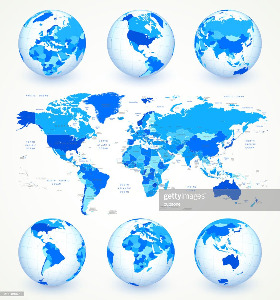 World map and globe set royalty free vector art vector art getty world map and globe set royalty free vector art vector art gumiabroncs Image collections