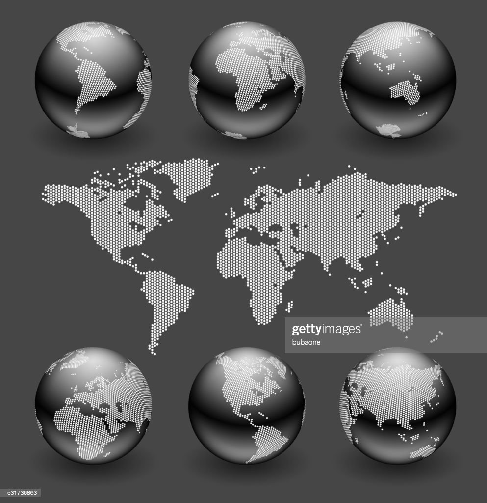 World map and globe set royalty free vector art vector art getty world map and globe set royalty free vector art vector art gumiabroncs Gallery