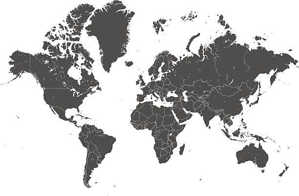 Free world map images pictures and royalty free stock photos world map countries gray vector gumiabroncs Image collections