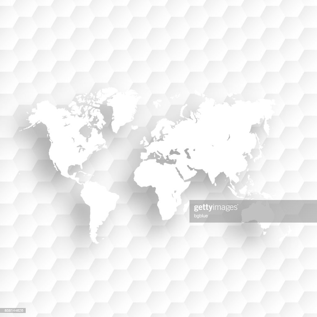World map isolated on white abstract background vector art getty world map isolated on white abstract background vector art gumiabroncs Image collections