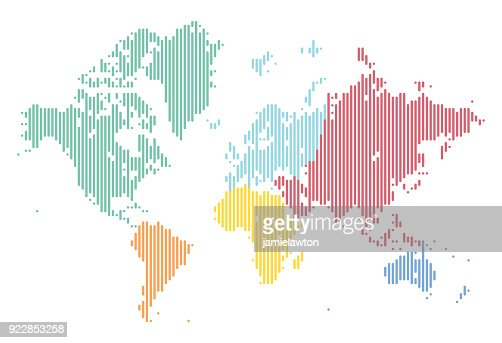 World map made from triangles vector art getty images keywords gumiabroncs Image collections