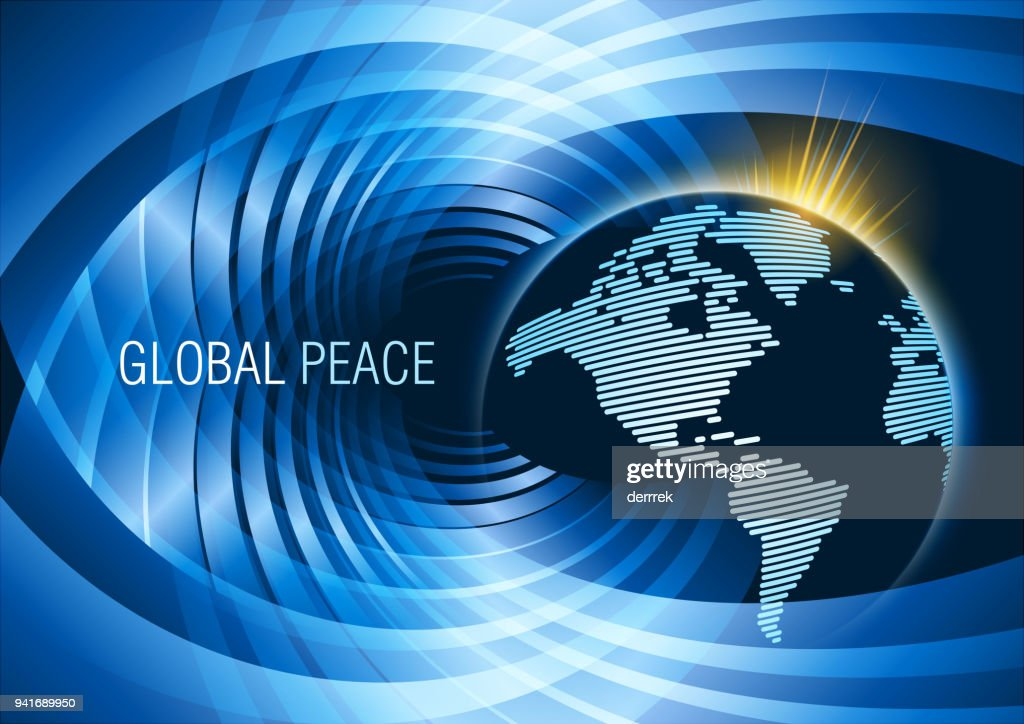 World map on abstract background vector art getty images world map on abstract background vector art gumiabroncs Choice Image