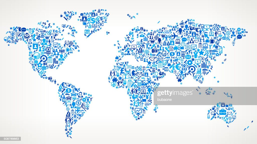 World map on business royalty free vector art pattern vector art world map on business royalty free vector art pattern vector art gumiabroncs Gallery