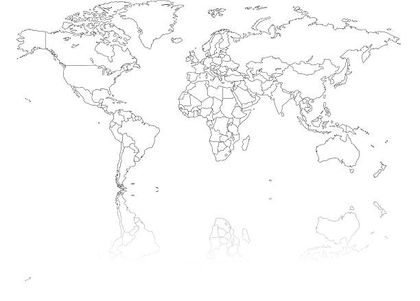 Free world black images pictures and royalty free stock photos world map outline with countries gumiabroncs Image collections